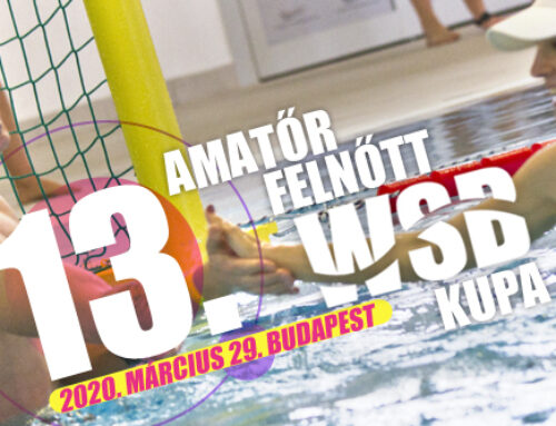 13. Amatőr Felnőtt Water Skyball Kupa – 2020. március 29., Budapest – ELMARAD