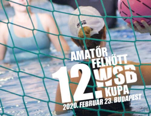 12. Amatőr Felnőtt Water Skyball Kupa – 2020. február 23., Budapest