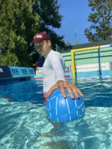 water skyball player 92