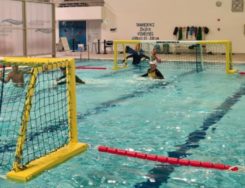 Water Skyball edzések újra a Tüskecsarnok Sportuszodában